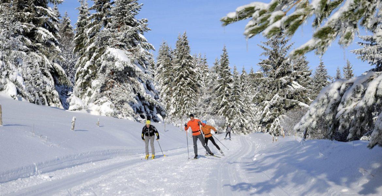 Parcourir les Vosges en ski de fond...